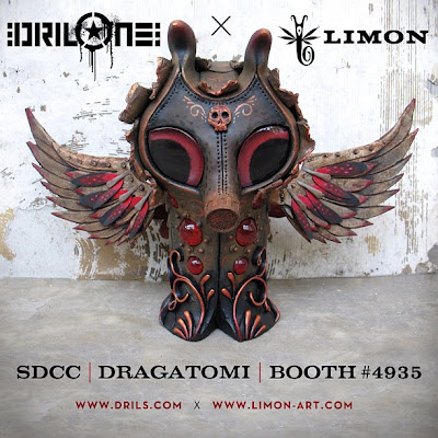 DrilOne x Jason Limon San Diego Comic-Con 2012 Exclusive Ollie (No. 7) Polymer Clay Figure