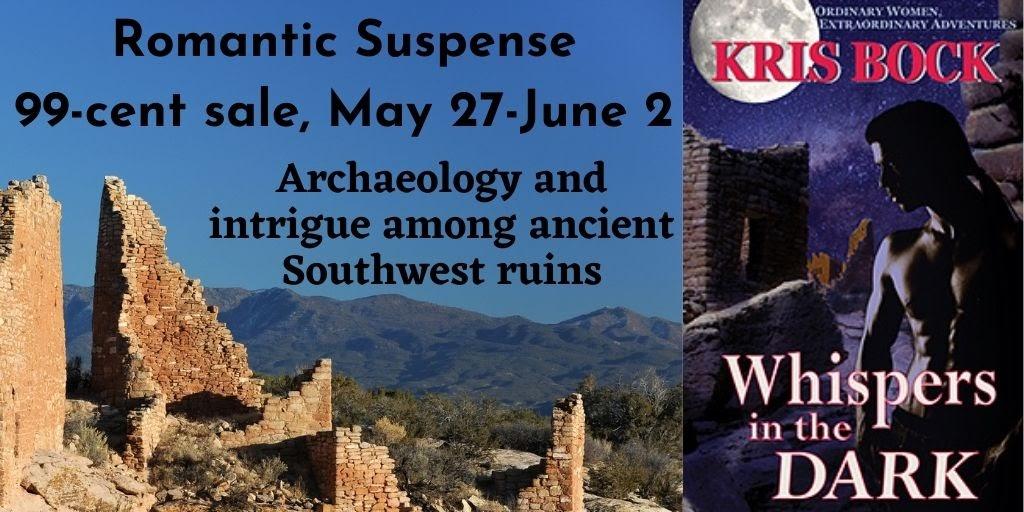 #RomanticSuspense 99c sale: Archaeology & intrigue among ancient Southwest ruins -  #archaeology #Romance #Suspense