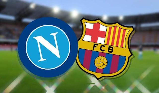 تشكيل برشلونة ونابولي الرسمي في دوري أبطال أوروبا