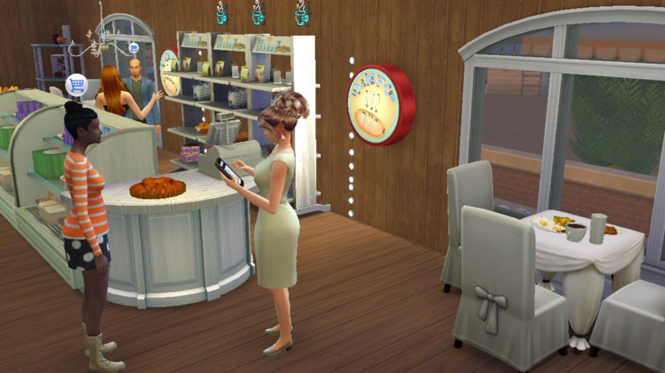 Sims 4 Bakery