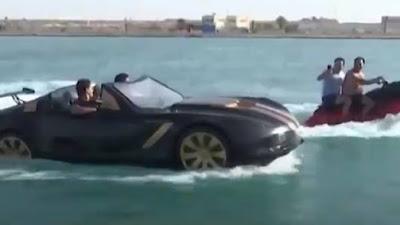 Jetski Mobil Vehicle Teknologi Baru Otomotif  Dunia Laut