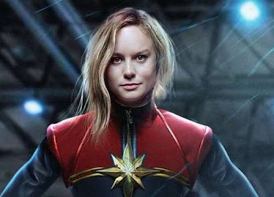 Superhero Anggota Avengers Captain Marvel