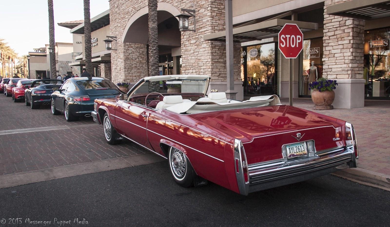 1978 Cadillac coupe de Ville convertible