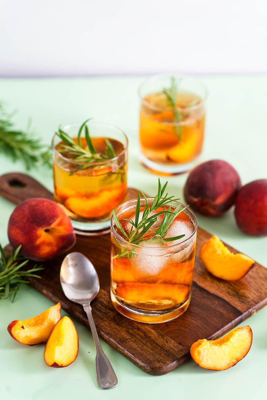 Mrożony napój brzoskwiniowy