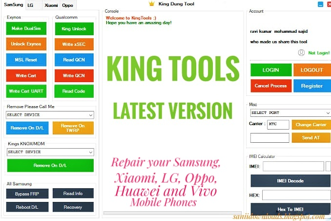 King Tools Setup Latest Version Free Download