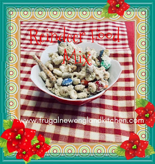 Christmas Reindeer Food Chex Mix Recipe