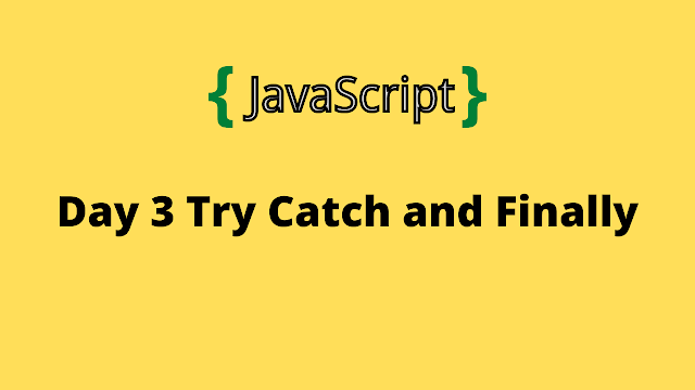 HackerRank Day 3: Try, Catch, and Finally 10 days of javascript solution