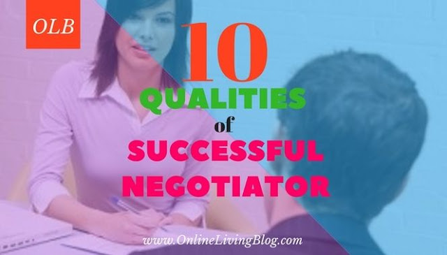 Qualities of a successful negotiation- business success entrepreneur common characteristics of a good negotiator