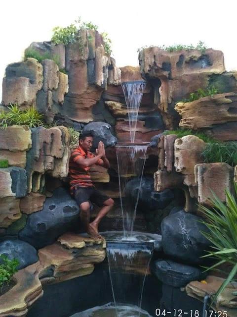 tukang kolam tebing relief surabaya
