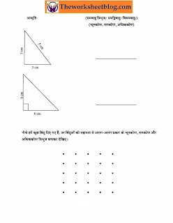 worksheets and online practice tests on Triangle and its properties