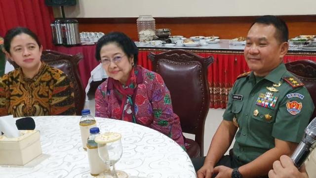 Terungkap Hubungan Khusus Pangkostrad Dudung dengan Ketum PDIP Megawati