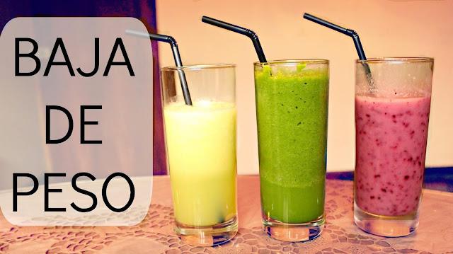 9 bebidas caseras fáciles de hacer  para bajar d peso