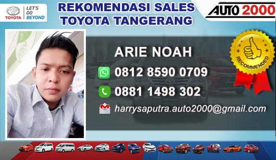 Dealer Toyota Kunciran Jaya Tangerang