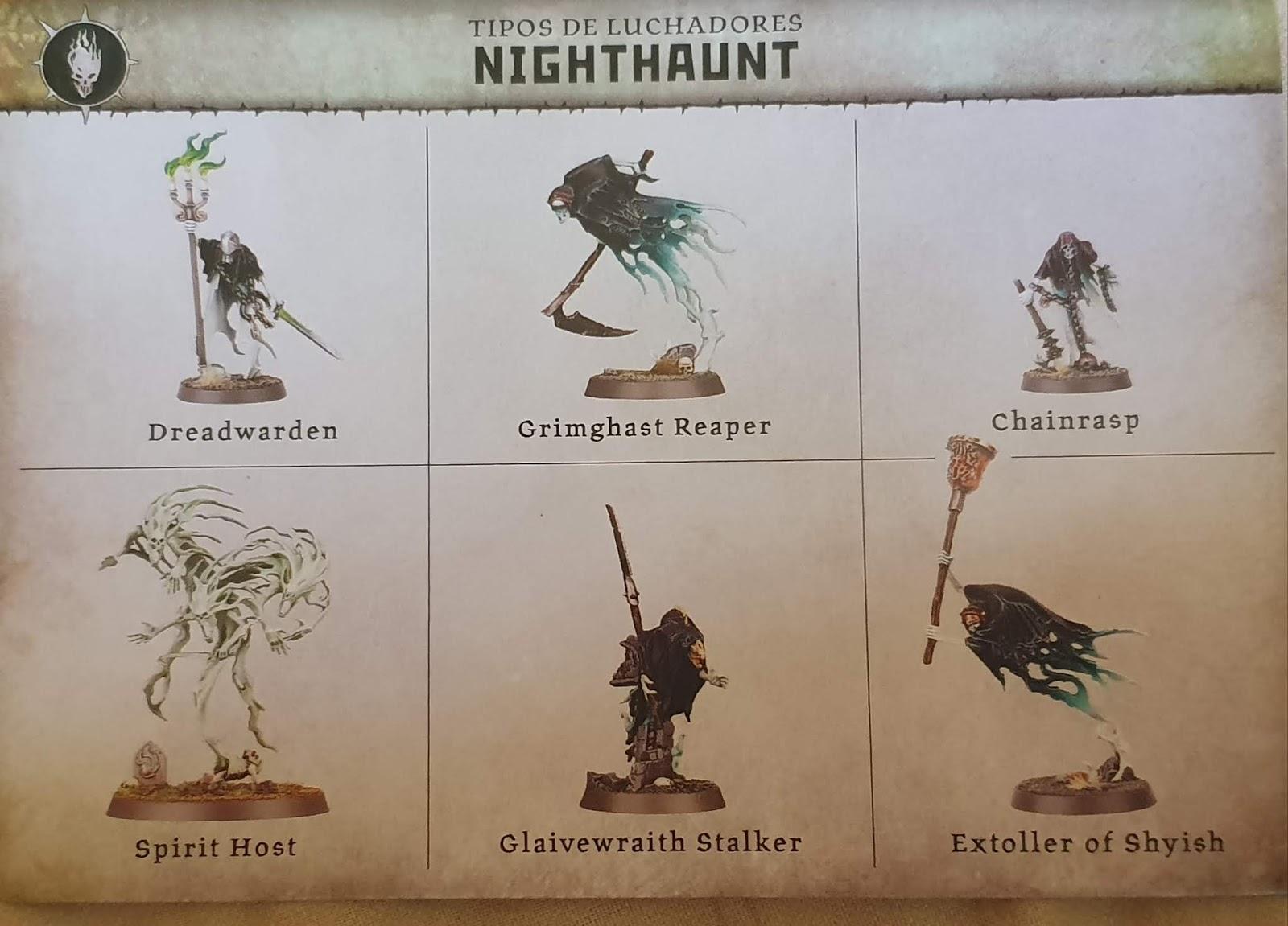 Games Workshop Warcry Nighthaunt