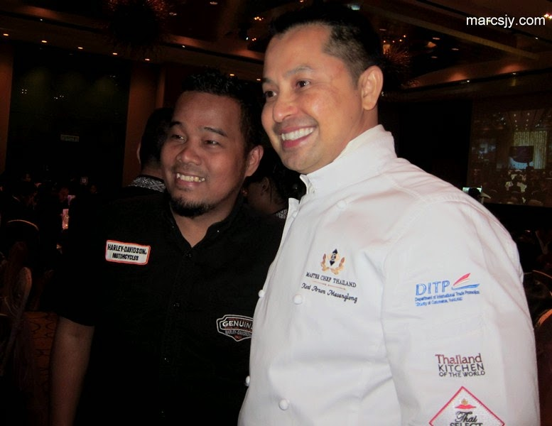 Introduction of Master Chef From Thailand- Mr.Kent Arnon Masanglong