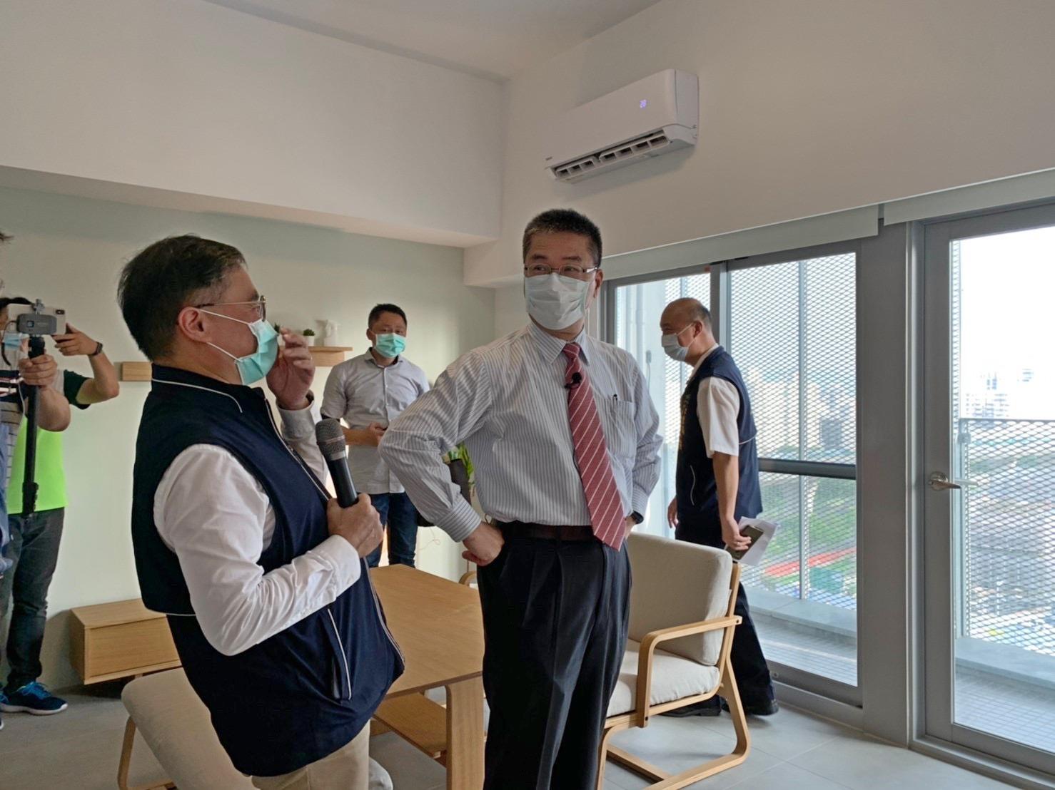 訪視太平育賢社會住宅 內政部長大讚「好宅」