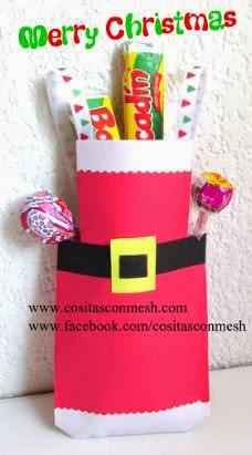 bolsitas-navideñas-regalo-manualidades