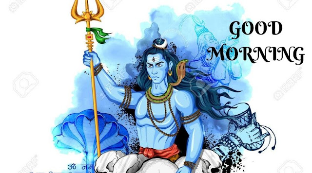 good morning hd images lord shiva