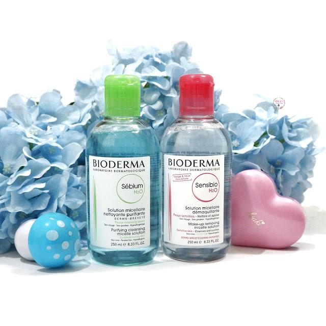 Bioderma Micellar Water untuk kulit kombinasi dan sensitif
