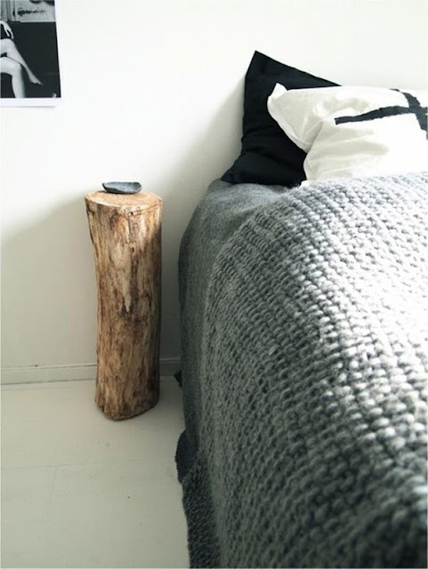Decoration With Recycled Logs 2