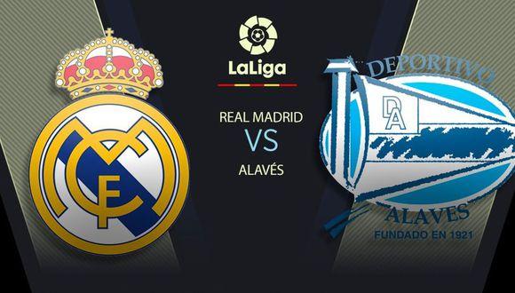 Real Madrid vs. Alavés EN VIVO: mira horarios y canales por LaLiga Santander