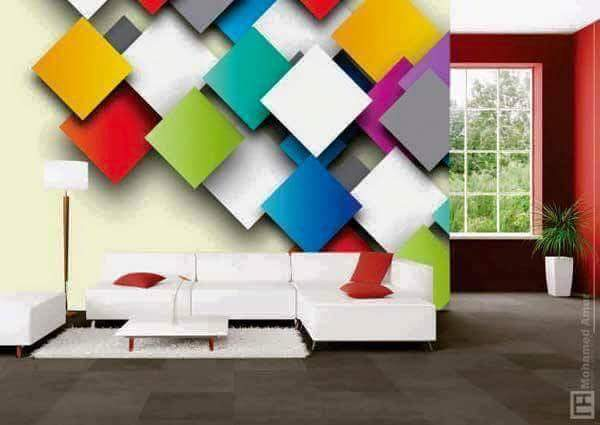 Modelos de wallpaper murales dise os 3d decoraci n del for Decoracion hogar diseno