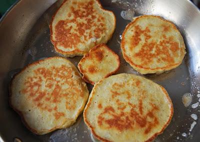 Pancakes banane - nectarines