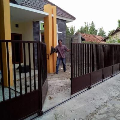 gambar pagar lipat minimalis modern terbaru