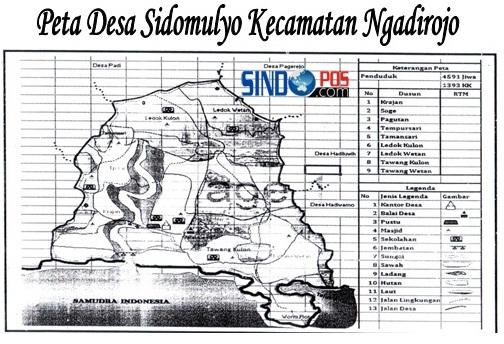 Profil Desa & Kelurahan, Desa Sidomulyo Kecamatan Ngadirojo Kabupaten Pacitan