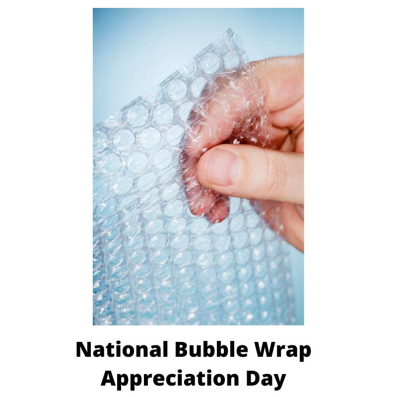 National Bubble Wrap Appreciation Day Wishes for Instagram