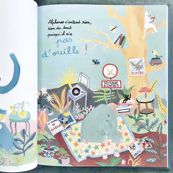 Album jeunesse : Les oreilles d'Alphonse