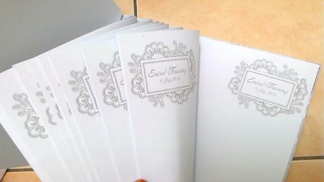 Mewah & esklusif sangadd guestbook Adorable Lace.