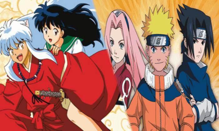 Inuyasha Naruto Selecta Visión