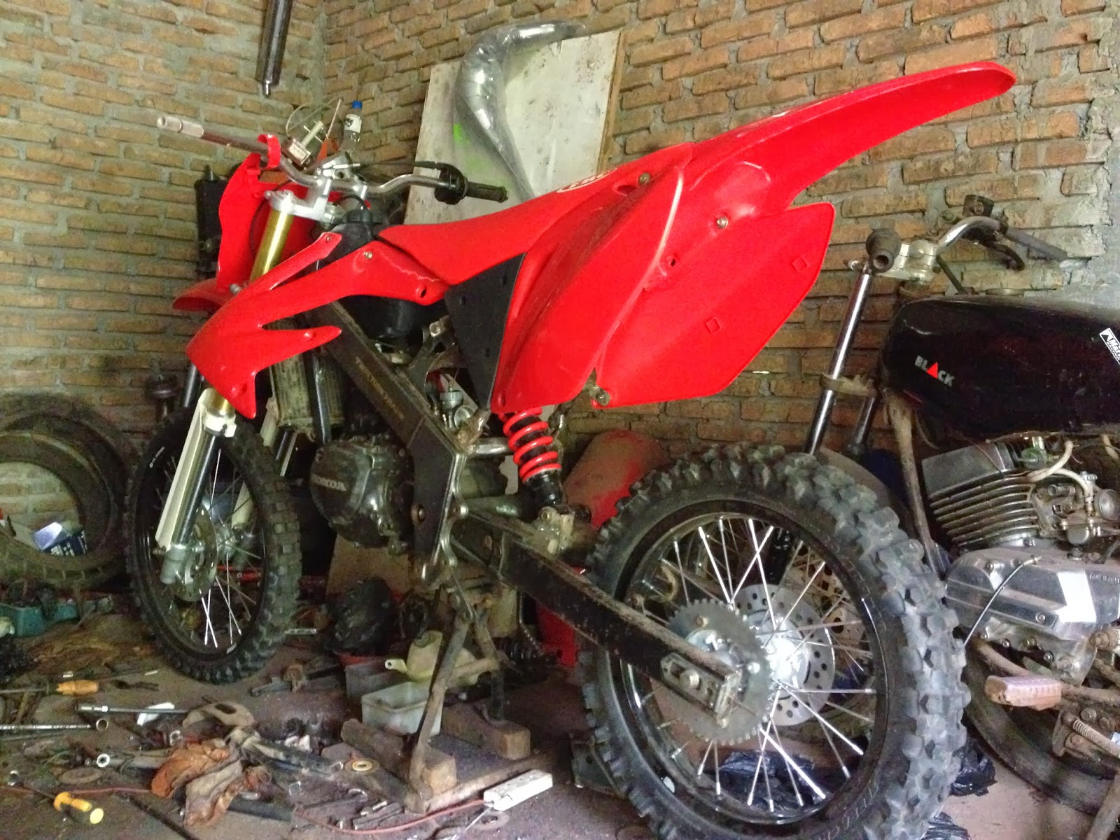 Download Ide 72 Modifikasi Motor Honda Crf 150 Terbaru Dan