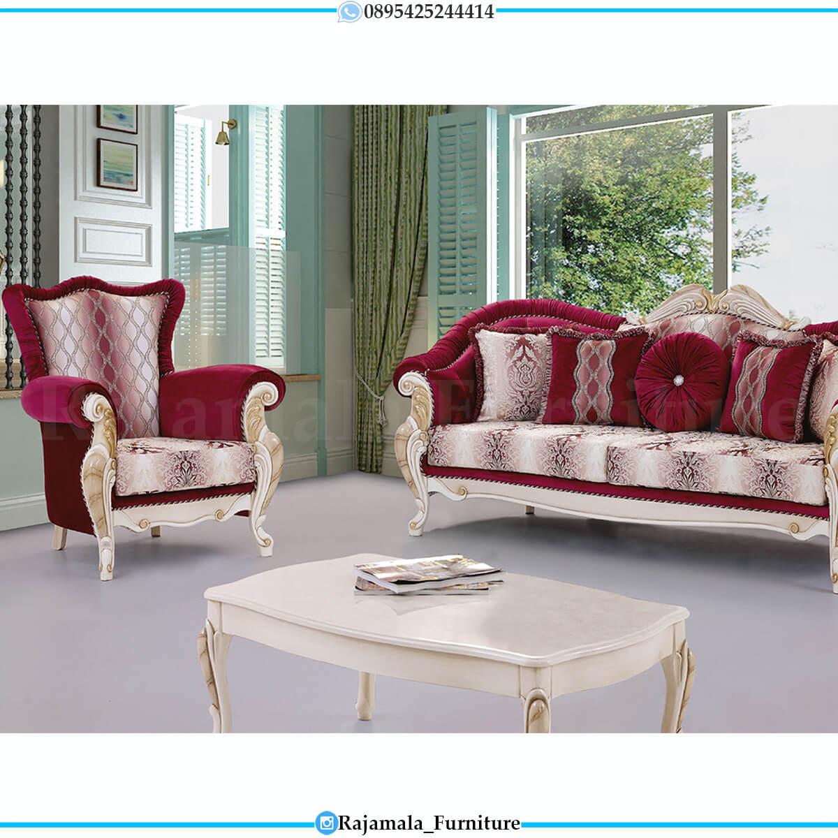 New Sofa Tamu Mewah Terbaru Best Seller Furniture Jepara RM-0734
