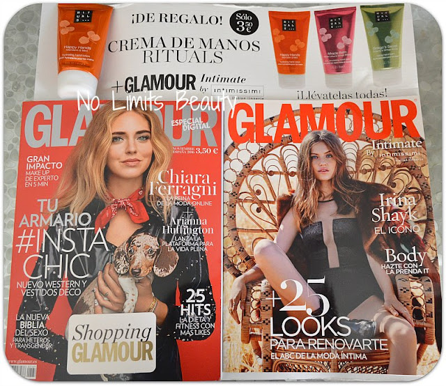 Regalos revistas noviembre 2016: Glamour
