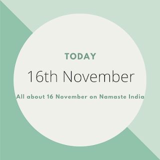 16th November - A Day in the life of India