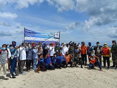 Peringati Sumpah Pemuda, Gerakan Rehabilitasi Terumbu Karang diluncurkan di Pulau Badul