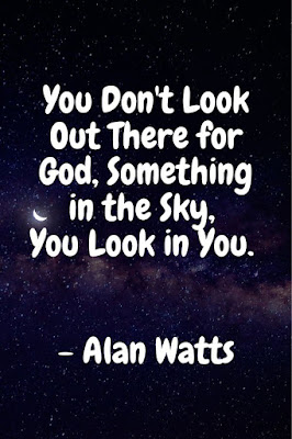 universe alan watts quotes on the true nature of god