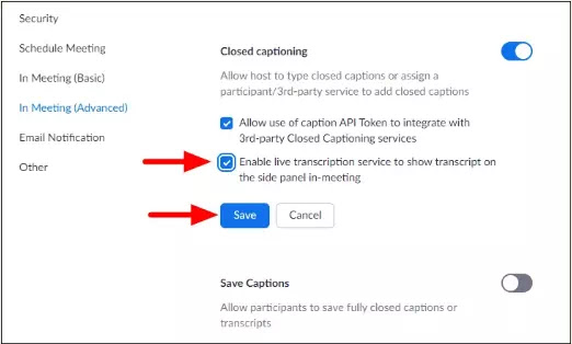 Cara Mengaktifkan Live Captions dan Live Transcript di Zoom-1