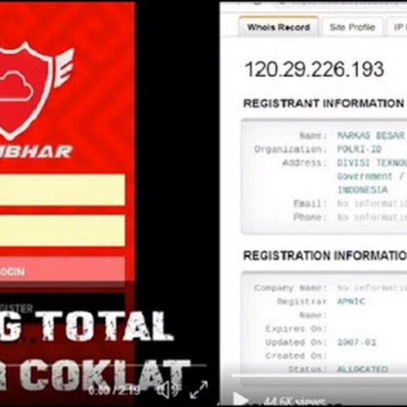 Akun @Opposite6890 Tuding Polri Bentuk Pasukan Buzzer Dukung Jokowi Pakai Aplikasi Sambhar