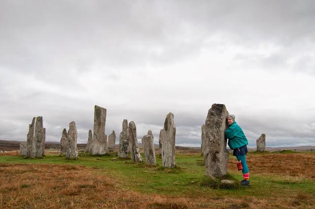 Callanish Standing Stones, Lewis, Scotia