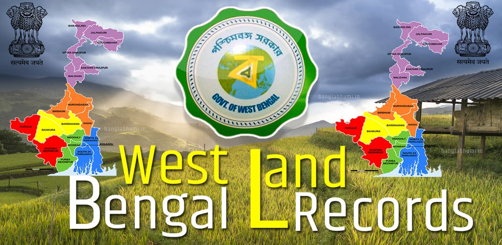 West Bengal Land Record & Plot Information With Mouja Map Download
