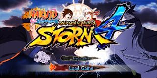 Download Naruto Ultimate Ninja Storm 4 PPSSPP Terbaru