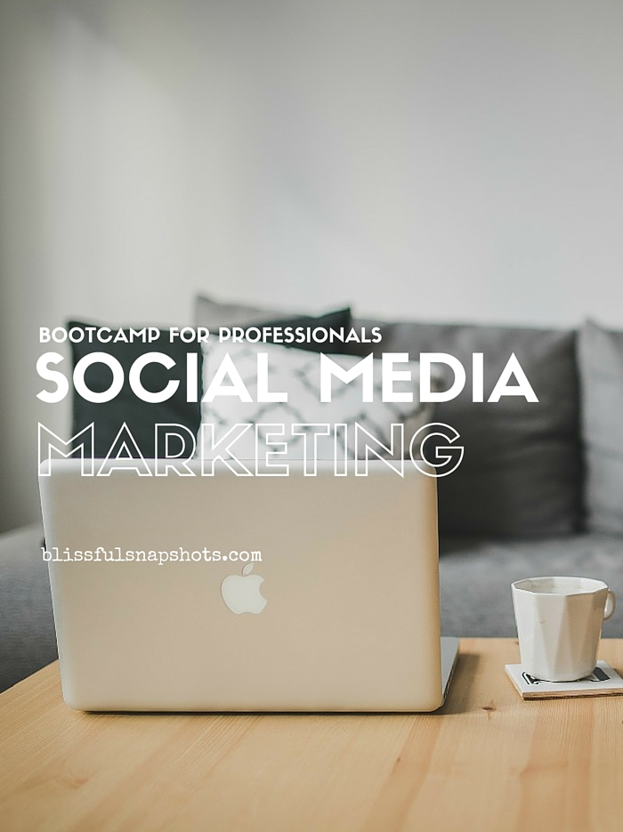 Social Media Marketing Bootcamp for Professionals