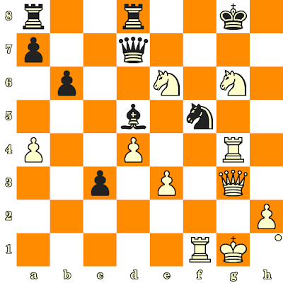 Les Blancs jouent et matent en 3 coups - Nino Batsiashvili vs Karina Szczepkowska, Moscou, 2012