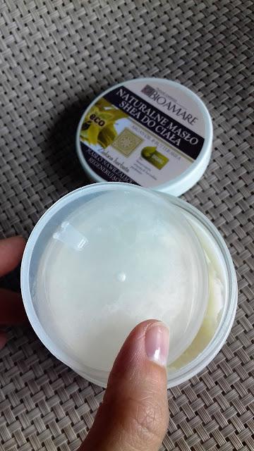 Bioamare naturalne masło shea do ciała z zieloną herbatą