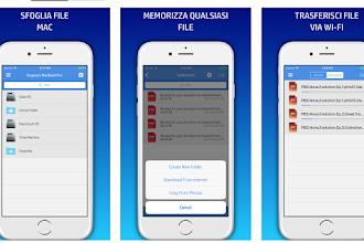 OGGI GRATIS: App da 5€per trasferire file tra iPhone/iPad e PC!