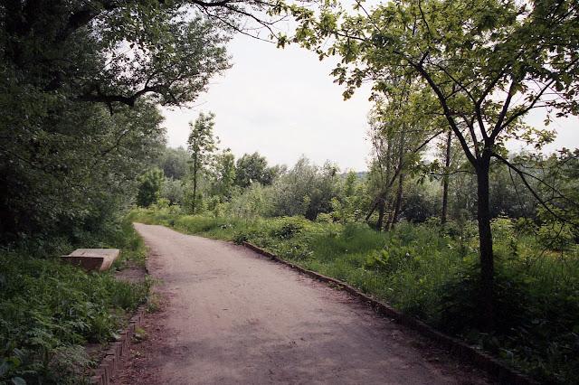 Ścieżka po praskiej stronie Wisły