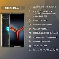 Spesifikasi Asus Rog Phone II Ponsel Gaming Sultan